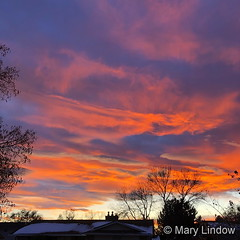November 3, 2019 - A stunning Colorado sunset. (Mary Lindow)