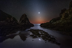 Venus, Mercury, and Zodiacal Light (Wayne Pinkston) Tags: zodiacallight zodiac light mercury venus dawn greatbarrierisland newzealand night sky nightsky nightlandscape nightphotography waynepinkston waynepinkstonphotocom lightcraftercom stars str starrynight starrysky milkyway galaxy astrophotography landscapeastrophotography widefieldastrophotography