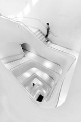 Ascensión (jantoniojess) Tags: staircase stairs escaleras escalones arquitectura architecture geometría geometry perspectiva humaningeometry blancoynegro blackandwhite monocromático monochrome nikond610 madrid españa spain streetphotography fotografíacallejera fotografíaurbana