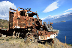 DSC_0475_Kopie (fritzenalg) Tags: ausgebrannt rost rust rusty schrott autowrack unfall accident