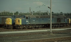 97/4s at Rest (Arthur Stopow) Tags: class 40 974 40118 40135 english electric type 4 97406 97408 crewe