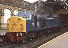 97407 over 40012 (Arthur Stopow) Tags: class 40 974 40012 97407 english electric type 4