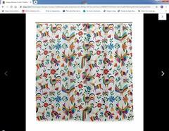 Otomi Design Shower Curtain Appropriation Plagio (Teyacapan) Tags: otomi designs plagio appropriation mexico indigenous china showercurtain fabrics textiles hidalgo