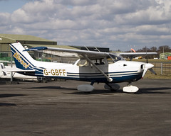 G-GBFF (wiltshirespotter) Tags: bournemouth hurn cessna reimscessna f172
