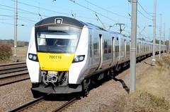 700116 aaa Sandy 021118 D Wetherall (MrDeltic15) Tags: eastcoastmainline thameslink class700 700116 sandy ecml