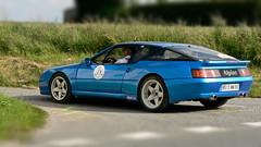 """Alpine """"Le Mans"""" (pierre.pruvot2) Tags: alpine sportautomobile histopale2009 lumixfz5 panasonic classiccar voiture automobile hautsdefrance pasdecalais côte dopale"""