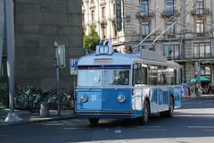 2017-07-30, Luzern, Bahnhof (Fototak) Tags: trolleybus filobus obus vbl luzern switzerland ligne1 fbw ffa mfo 25
