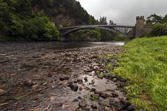 Craigellachie (Boganeer) Tags: craigellachie moray speyside speyriver bridge river shore scotland ecosse unitedkingdom uk water canon canoneos canon6d speysideway