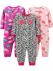 Simple Joys by Carter's Baby and Toddler Girls' 3-Pack Loose Fit Fleece Footless Pajamas (shop8447) Tags: 3pack baby by carters fit fleece footless joys loose pajamas simple toddler
