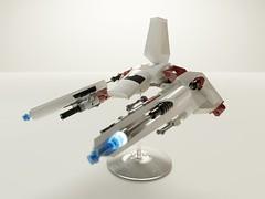 Sienar Fleet Systems Ypsilon-class Y-4 Viper (Littlepixel™) Tags: imperial shuttle novvember nnenn afol moc vic viper tiderium star wars jedi blender render ldraw lambda lego