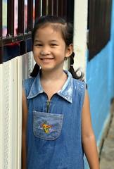 cute girl (the foreign photographer - ฝรั่งถ่) Tags: cute girl child khlong lard phrao portraits bangkhen bangkok thailand nikon d3200