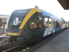 DCTA 102 (TheTransitCamera) Tags: dctat102 dmu stadler atrain commuter line rail dentoncountytransitauthority dcta publictransit publictransport bus denton texas gtw26