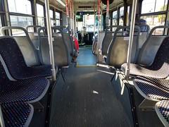 DCTA 1612 Interior (TheTransitCamera) Tags: dcta1612 gillig lowfloor35 interior seat ride dentoncountytransitauthority dcta publictransit publictransport bus denton texas