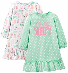 Simple Joys by Carter's Little Girls' 2-Pack Fleece Nightgowns (shop8447) Tags: 2pack by carters fleece joys little nightgowns simple