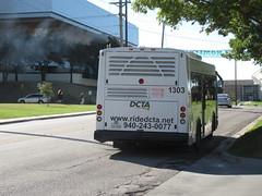 DCTA 1303 (TheTransitCamera) Tags: dcta1303 eldorado ezrideriibrt dentoncountytransitauthority dcta publictransit publictransport bus denton texas