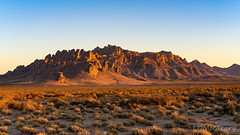 Florida Mountains Illuminated by Setting Sun (LDMcCleary) Tags: