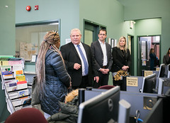 Visit to JobStart   2019-11-13 (Premier of Ontario Photography) Tags: premier ford ontario job jobs minister labour government services