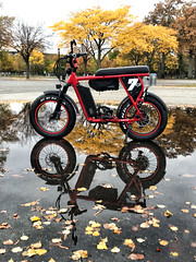 Juiced Camp-Scrambler Ebike (NYC sharpshooter) Tags: juiced bikes scrambler dirt atv mini bike classic mtb bicycle electric battery transportation city technology green transport power sport urban white ride energy cycle ebike electricity outdoor motor hybrid motion lifestyle design healthy activity environment travel nature day caucasian street vehicle eco ecology recreation background people e modern young color women summer leisure black view isolated electro