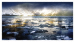 NORTH WIND (VENT DU NORD) (PATRICE OUELLET) Tags: patricephotographiste northwind ventdunord poësia ice lake lac glace mountains montagnes landscape wild sauvage paysage