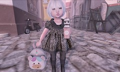 L.O.T.D. 11.13.19 (Emery/Teagan Parker) Tags: lulabelle colormecute elora backpack unicorn onyx elodie autumn icecream vco