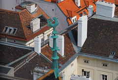 Wien - roofs (Bardazzi Luca) Tags: vienna wien austria europe city citta building architettura arquitectura architecture luca bardazzi desktop wallpapers image olympus em10 micro four thirds 43 foto flickr photo picture internet web danubio danube österreich chiesa basilica pieve eglise church kirche cattedrale campanile