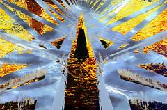 Ice Bridge (beelzebub2011) Tags: abstract multipleexposure mirrorimage composite