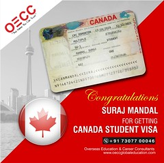 Canada Student Visa approved (oeccaustraliaimmigration) Tags: canada student visa
