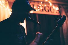 Onetimers at Sluggo's (radargeek) Tags: film 35mm 2019 chattanooga tn tennessee minolta x370s onetimers singing sluggos band music