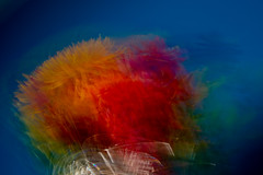 Primarily a Bouquet (Ruff Edge Design) Tags: flowers vase crystal multipleexposure icm intentionalcameramovement primarycolors abstract