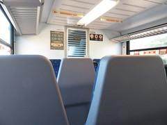 DCTA 102 Interior (TheTransitCamera) Tags: dctat102 dmu stadler atrain commuter line rail dentoncountytransitauthority dcta publictransit publictransport bus denton texas