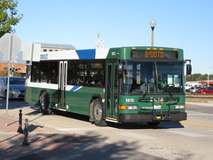 DCTA 1612 (TheTransitCamera) Tags: dcta1612 gillig lowfloor35 dentoncountytransitauthority dcta publictransit publictransport bus denton texas route008