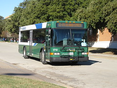 DCTA 1712 (TheTransitCamera) Tags: bus texas publictransit publictransport gillig denton dcta dentoncountytransitauthority lowfloor35 dcta1712 college campus university study unt universityofnorthtexas