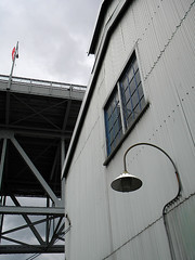 Emily Carr Art School, a corrugated metal building, on Granville Island, Vancouver, Canada (albatz) Tags: granvilleisland vancouver canada emilycarr artschool corrugated metal building