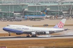 CHINA AIRLINES B747-409 B-18212 (1008twice) Tags: chinaairlines b747 b744 b747400 boeing icn rksi 華航 中華航空 b18212