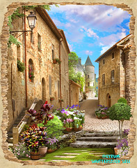 old_street_view_2 (166bpm) Tags: ancient antique arch architecture art background balcony beautiful building castle city classic digital flower fresco garden house illustration isolated italy landscape mural natural nature old outdoor paris park plant sea season sky street summer terrace travel view vintage wall wallpaper water waterfall window