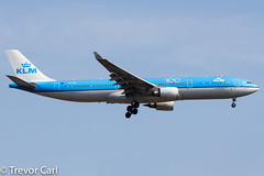 KLM - Royal Dutch Airlines | PH-AKF | Airbus A330-303 | JFK | KJFK (Trevor Carl) Tags: airbus aircraft 1580 alltypesoftransport phakf newyork airlinersnet a330303 photo unitedstatesofamerica klmroyaldutchairlines 100years aviation jfk newyorkcity kjfk airplane plane newyorkjohnfkennedy avgeeks transport