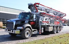 Rambo Concrete Pumping LLC Truck (raserf) Tags: rambo concrete cement pump pumper pumping truck trucks mack plano texas rcp services sturtevant racine county wisconsin