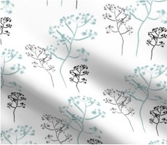 Baby's Breath (faeDESIGN) Tags: spoonflower napkins fabric diy crafts sew seamstress roostery decor home