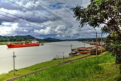 Crossing the Panama Canal (Bernai Velarde-Light Seeker) Tags: oil chemical tanker panamacanal bernai velarde panama