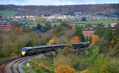 800306 at Stroud. (curly42) Tags: 800306 class800 hitachi iep iet railway gwr transport stroud publictransport