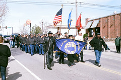 Marching on MLK Day (radargeek) Tags: film 35mm 2019 parade oklahoma minolta x370s mlk naacp