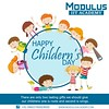 Happy Children's Day: Modulus Academy (Modulus IIT Academy) Tags: education power future prominent india modulusiitacademy iitjee coaching motivation boost childrensday country