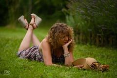 portrait (JC-BX) Tags: nikon femme woman lady charmes romantisme glamour glamorous jardin garden portrait portraiture