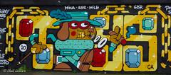 RENNES GRAFFITI (claude 22) Tags: street painting graffiti paint pintura aero graffeur arteenlacalle lasparades city urban france color art vivid bretagne breizh graff francia rennes roazhon