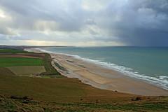 La côte d'Opale (Yvan LEMEUR) Tags: côtedopale escalles sangatte pasdecalais hautsdefrance nordpasdecalais mer sea orage météorologie pluie grainaularge pluieaularge rivage sable plage nuages extérieur mauvaistemps capblancnez