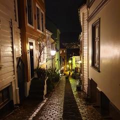 Bergen by night.   Had a short visit to always charming Bergen  Location: Bergen / Norway (littdiva) Tags: bergen norway travel globalnomads postcardsfromtheworld