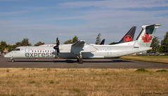 Air Canada Express / Operated By Jazz / De Havilland Canada Dash 8-400 / C-FSRZ / YVR (tremblayfrederick98) Tags: dehavilland dash8 dash q400 jazzaviation aviation avgeek avporn airplane aircanada aircanadaexpress planesspotting planes