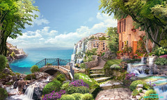 с_1 (166bpm) Tags: ancient antique arch architecture art background balcony beautiful building castle city classic digital flower fresco garden house illustration isolated italy landscape mural natural nature old outdoor paris park plant sea season sky street summer terrace travel view vintage wall wallpaper water waterfall window