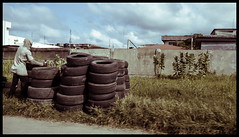 Tires (vincent-photo) Tags: canon canonixus travelphotography nigeria lagos africa compact