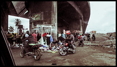 Under the bridge (vincent-photo) Tags: canon canonixus travelphotography nigeria lagos africa compact